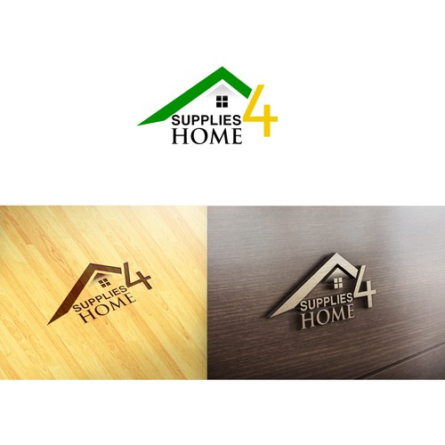 Create a recognizable logo for Supplies4Home