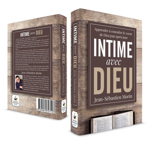 Book Cover Design for INTIME avec DIEU
