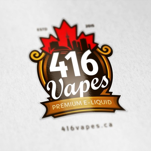 Logo for 416 Vapes - E Liquid from Canada