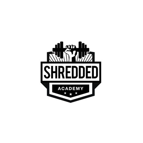 Logo design for Shredded Academy