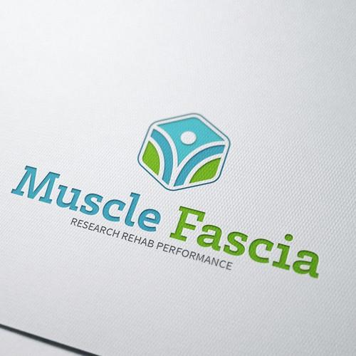 logo concept Muscle Fascia