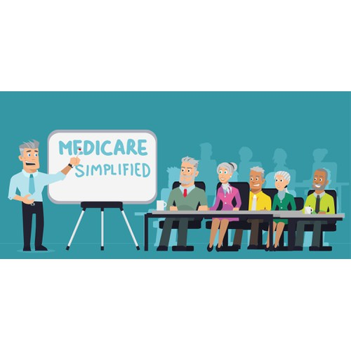 Concept for Medicare Illustration