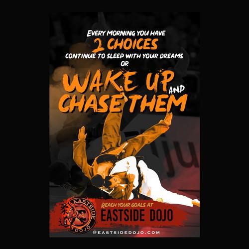 Motivational Poster for East-side Dojo