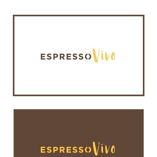 """Concept logo """"Espresso Vivo"""""""