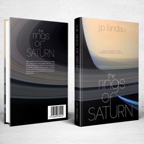 Book cover for The Rings Of Saturn