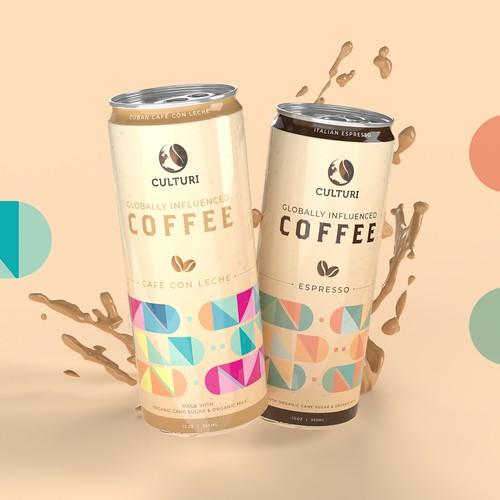 Culturi Globally Influenced Coffee Cans