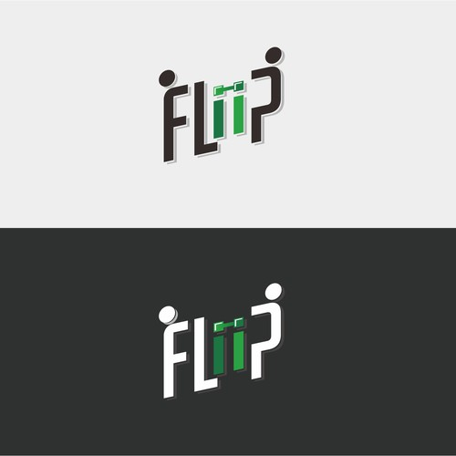 Create a modern/sophisticated yet simple logo for a gym management software