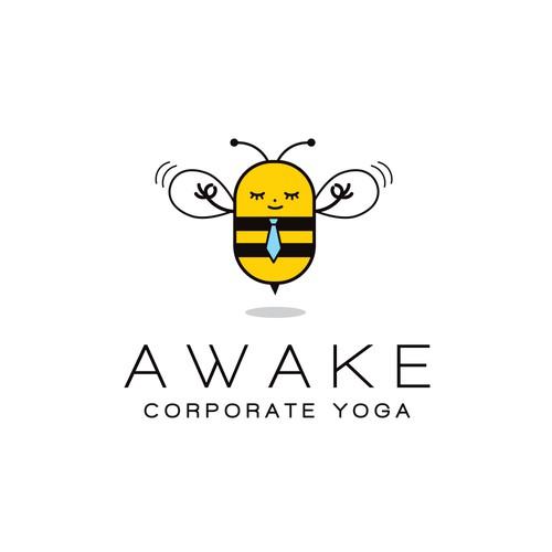 Modern logo for Corporate Yoga