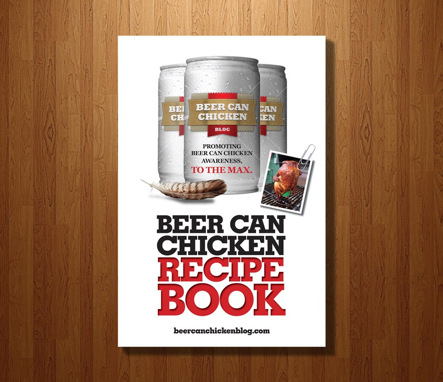 Ebook Cover Design for Beer Can Chicken Blog