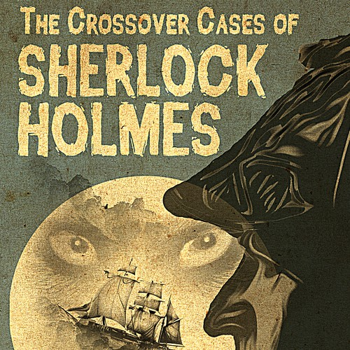 Book cover for Sherlock Holmes Story Featuring Dracula