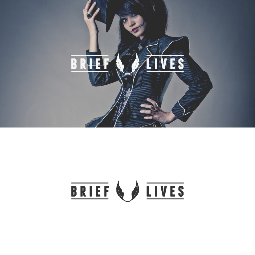 Logo for Brief Lives - a goth & fantasy ecommerce website