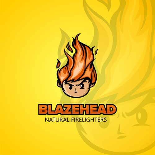 Character logo for eco firelighterss