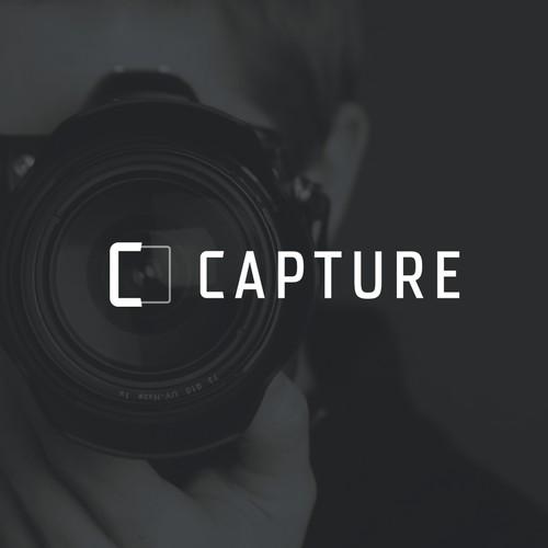 Minimalistic Photoframe Logo