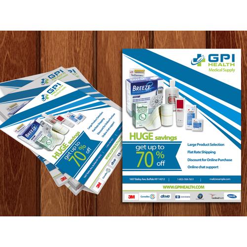 Medical Supply Flyer