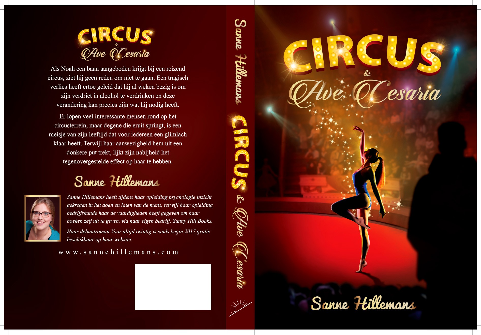 Design a bookcover for my novel about a Circus! (specific ideas!)