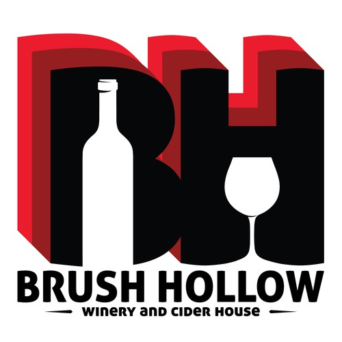 Brush Hollow logo design