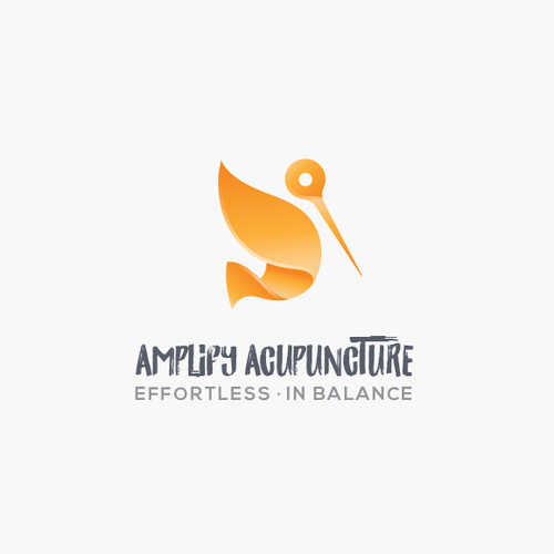 Logo for an acupuncture company