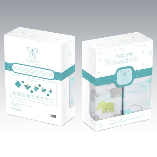 Organic Swaddle Packaging