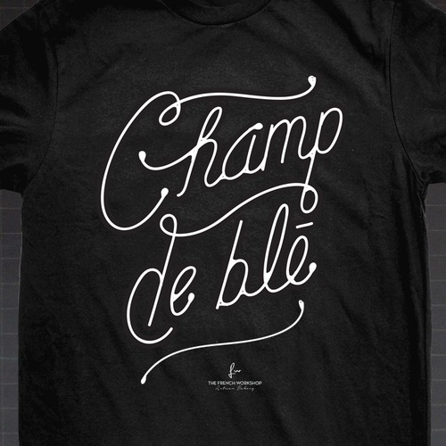 The French Workshop Bakery Co-workers T-shirt