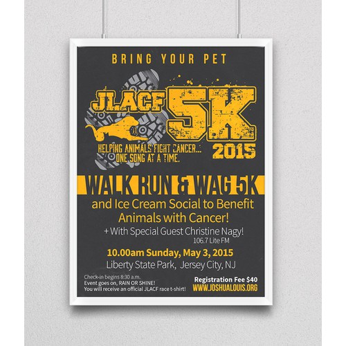 5K Event Poster