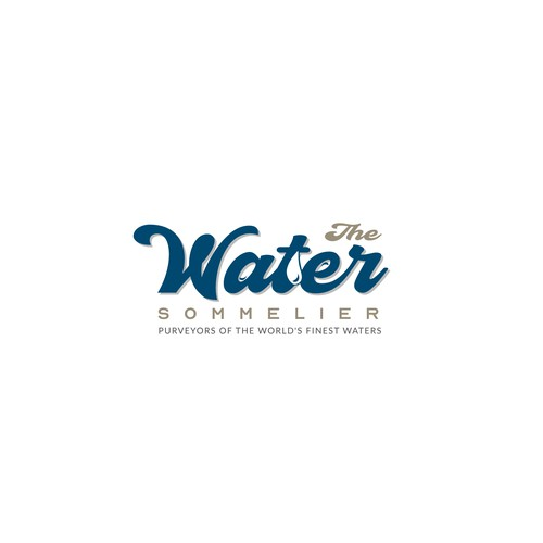 Logo for The Water Sommelier
