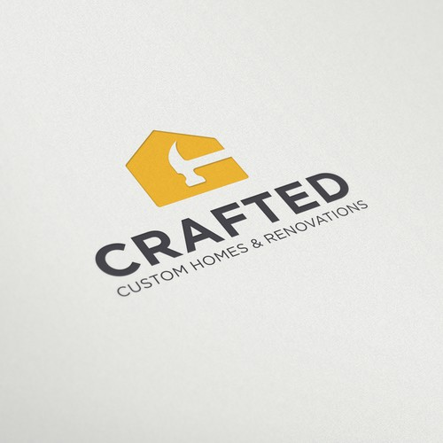 Design a logo for a custom home building company