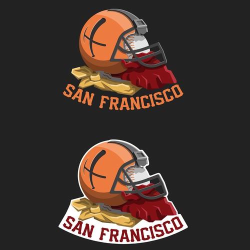 Team logo mashup