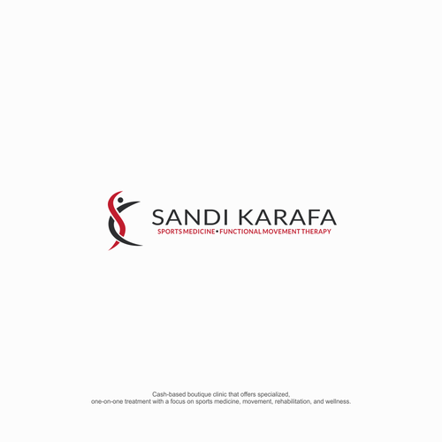 logo concept for sandi karafa
