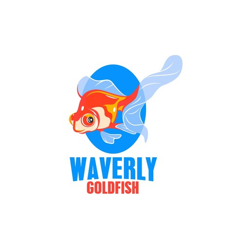 Create fun and whimsical logo and social media branding for Waverly Goldfish