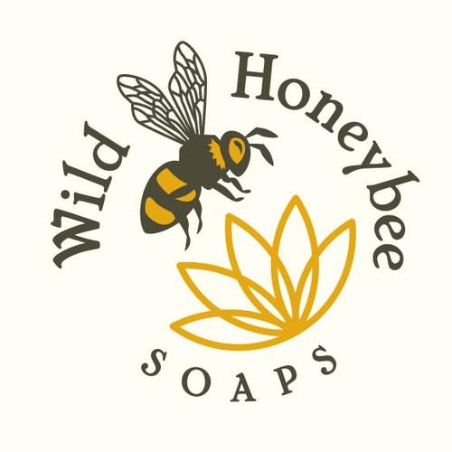 Wild Honeybee Soaps Logo