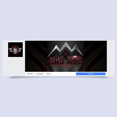 Bad Ass Apparel Facebook Cover