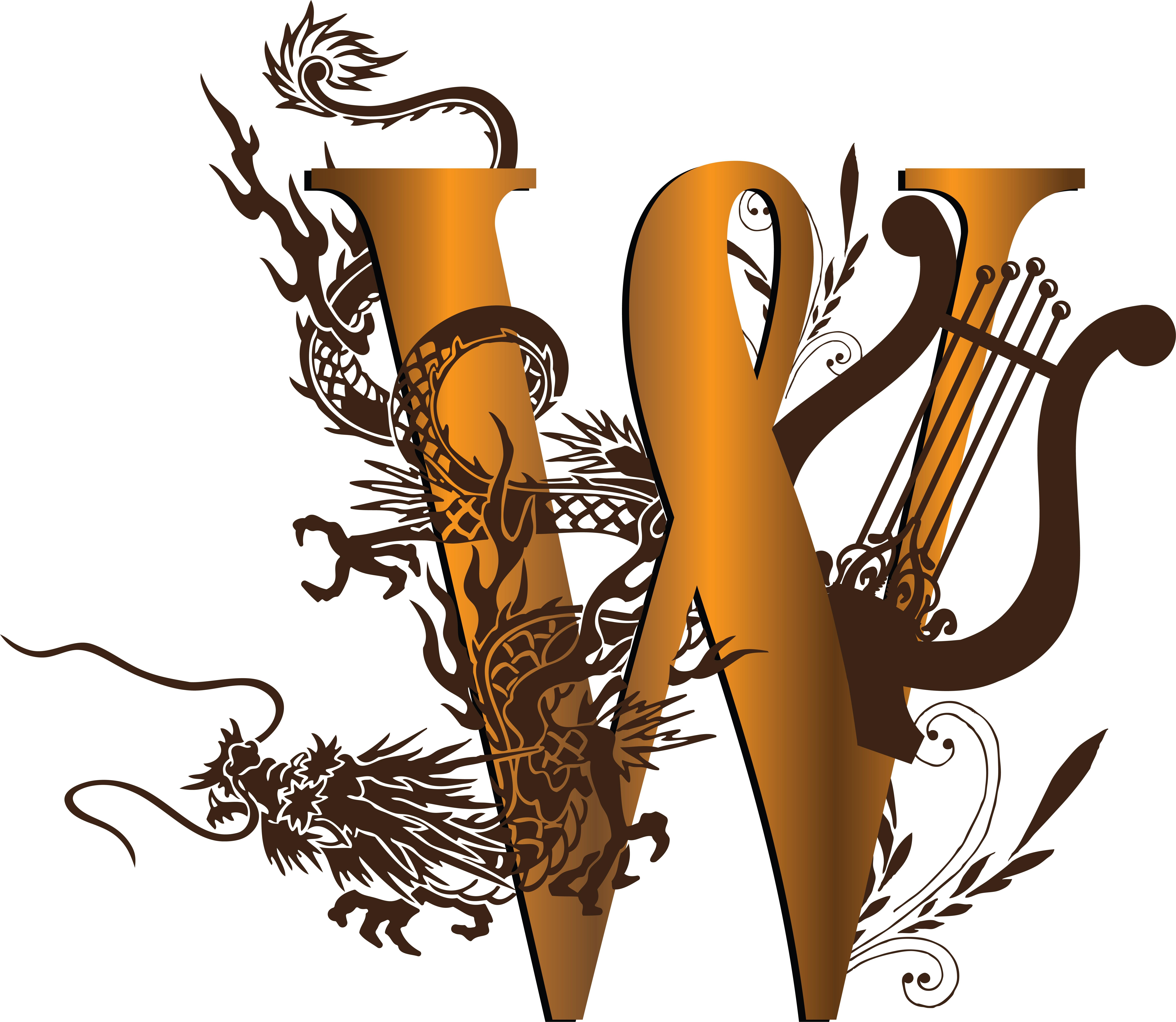 Decorative Monogram W