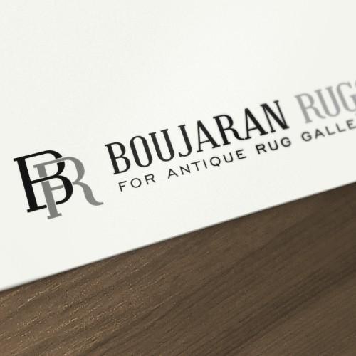 Create the next logo for Boujaran Rugs