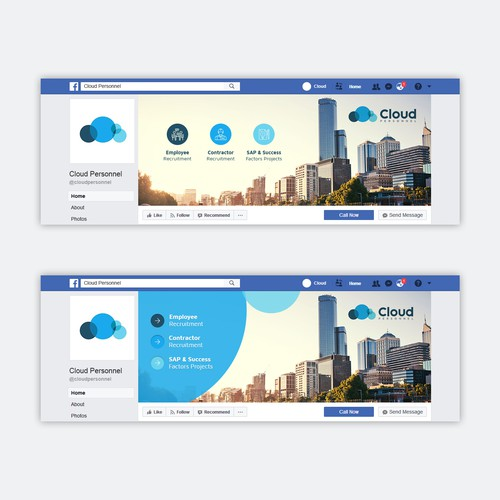 Cloud FB Cover page