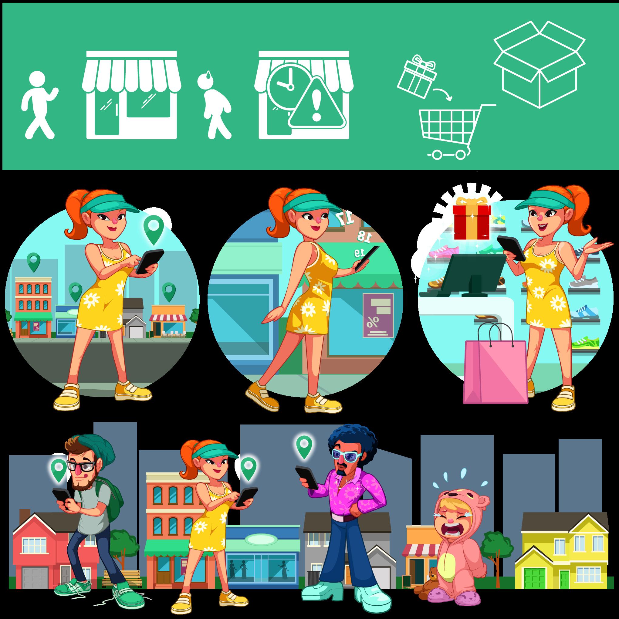 Walk Today - In-app assets
