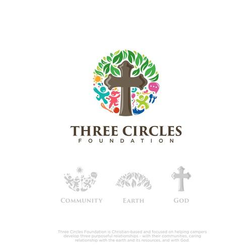 Three Circles Foundation Logo Concept