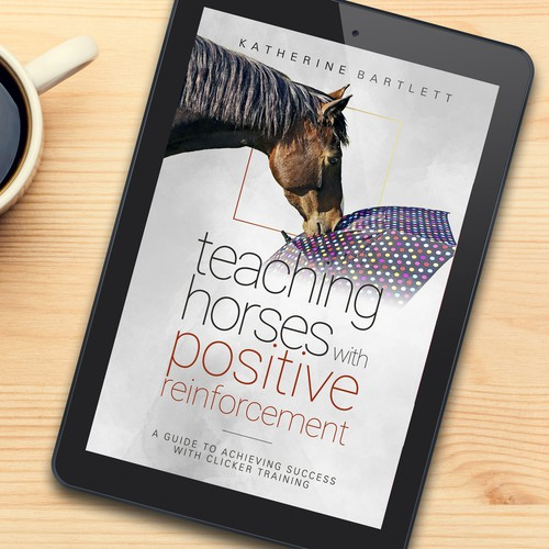 Thin logo concept for Teaching Horses Guide Book