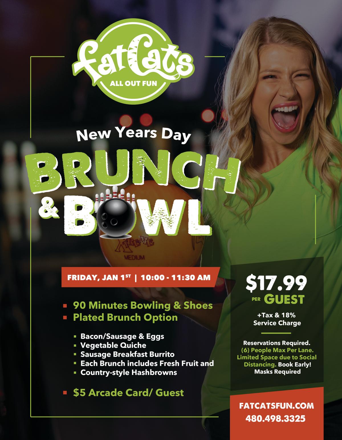 New Year Brunch Flyer