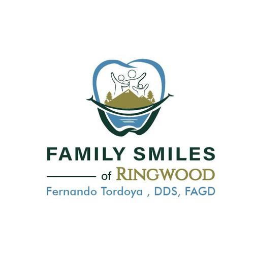 Stunning logo for Family Smiles of Ringwood