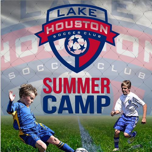 Flyer for Lake Houston Soccer Camp