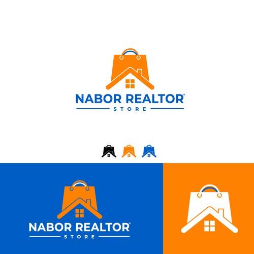 Modern Logo for Nabor Realtor