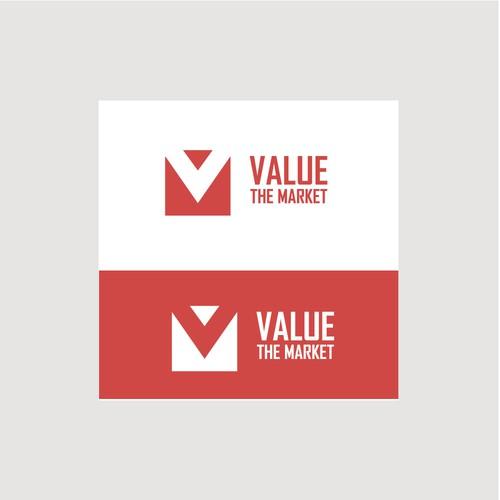 Value the Market concept logo
