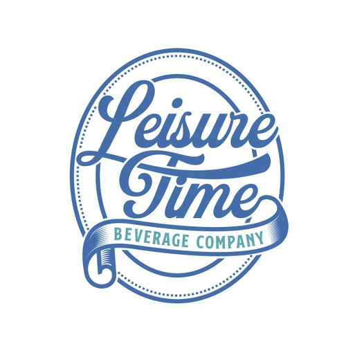 Logo for a beverage company