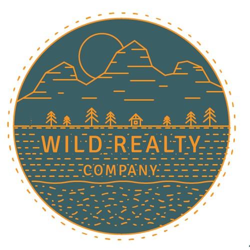 line logo outdors, wild