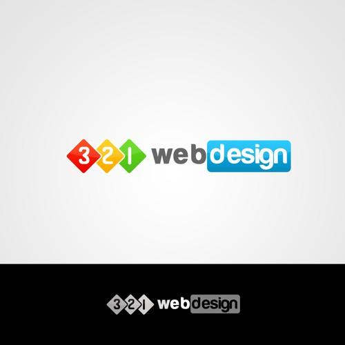 Create the next logo for 321 Web Design