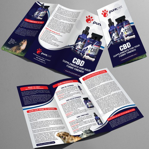 Brochure for Pure Pet