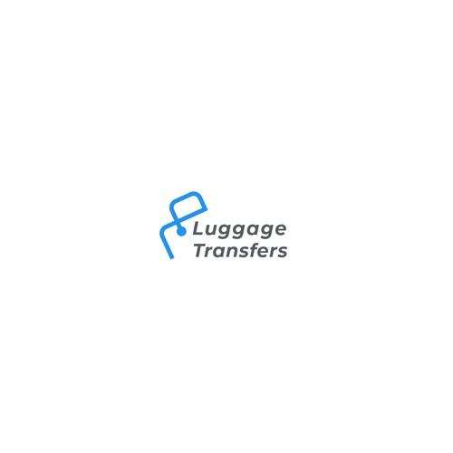Luggage Transfers logo Concept