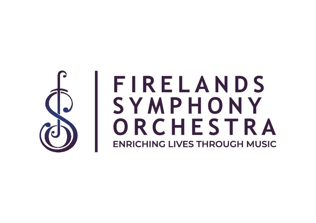 FRESH, MODERN logo for a Symphony Orchestra