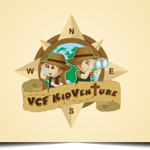 Create an exciting adventure illustration for older kids!