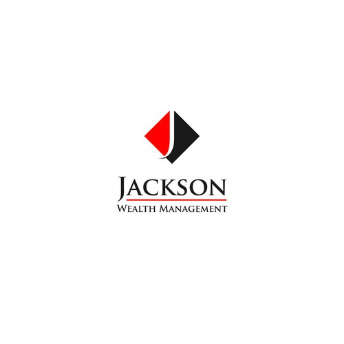 Creative logo for wealth management company